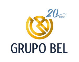Logo 20 anos Grupo Bel