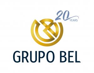 Logo 20 years Grupo Bel